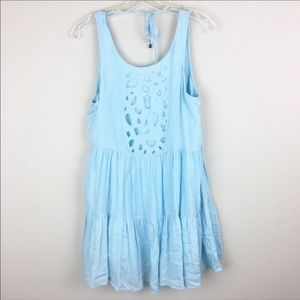 Lovers + Friends Baby Blue Dress